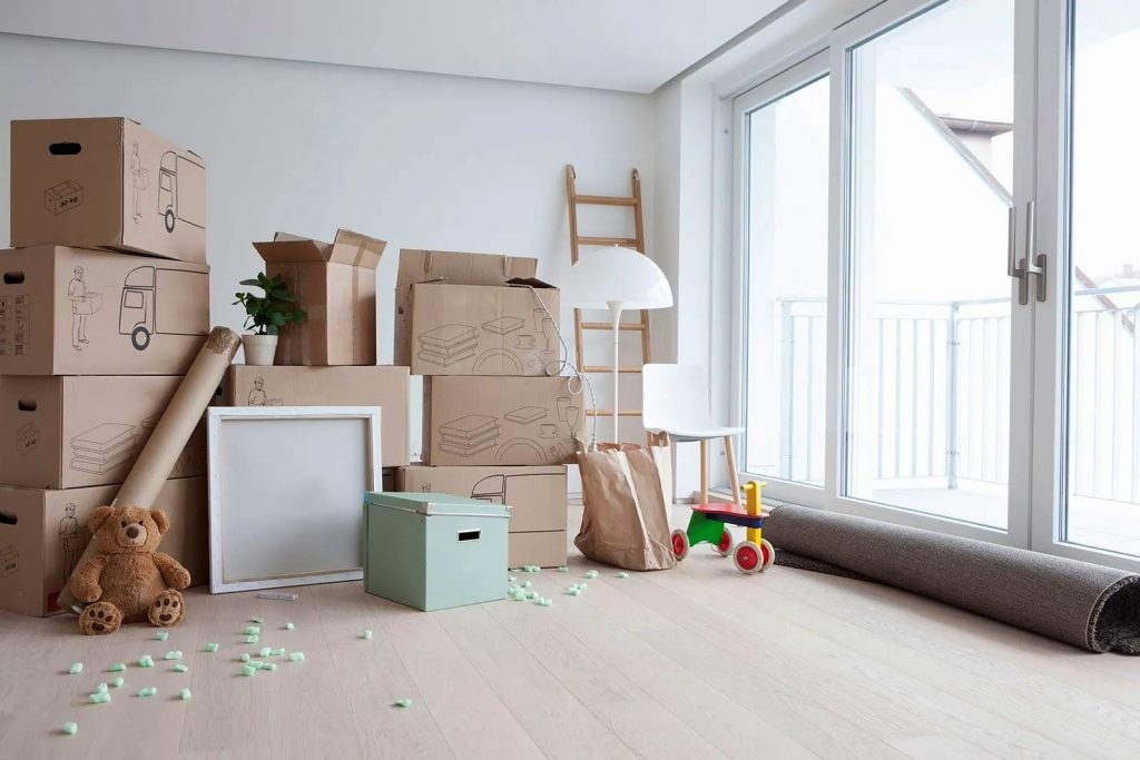 What needs to be done when moving house